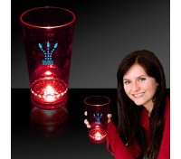 16 Oz. Flashing LED Pint Glass