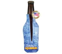 Bottle Zipper Coolie - 4 Color Process