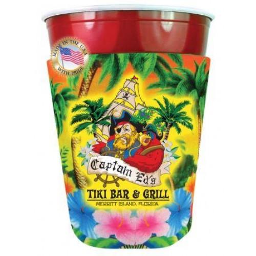 Party Cup Coolie - 4 Color Process