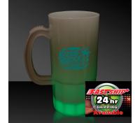 "20 Oz. Green Glowing ""Neon"" Beer Mug"