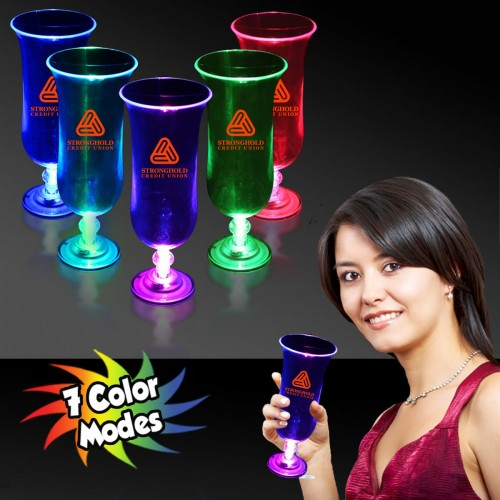 16 Oz. Light-Up Hurricane Glass