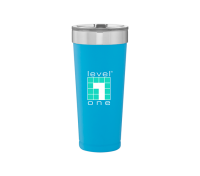20.9 Oz. Stainless Steel Powder Coated Tumbler