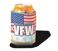 American Flag Full Color Hugger Koozies