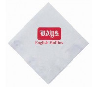 Dinner Napkins, 1/4 Fold - White