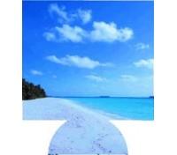 Beach Full Color Hugger Koozies