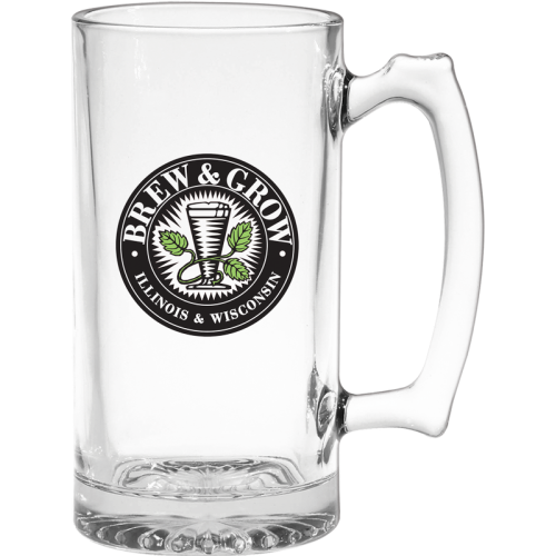 25 Oz. Thumbprint Beer Tankard