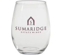 9 Oz. Stemless White Wine Glass