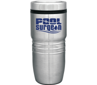 18 Oz. Steel City Sleek Stainless Steel Tumbler