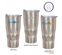 22 Oz. Vortex Stainless Steel Tumbler
