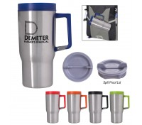 20 Oz. Carabiner Grip Stainless Steel Travel Tumbler