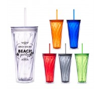 20 Oz. Swirl Double Wall Tumbler