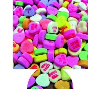 Heart Candy Print Full Color Hugger Koozies