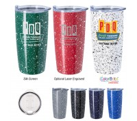20 Oz. Speckled Stainless Steel Himalayan Tumbler