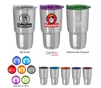 27 Oz. Stainless Steel Moby Tumbler