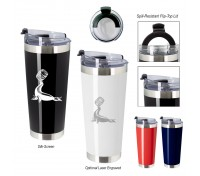 28 Oz. Stainless Steel Cobra Tumbler