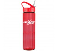 24 Oz. Prestige Bottle with Sport Sip Lid and Straw