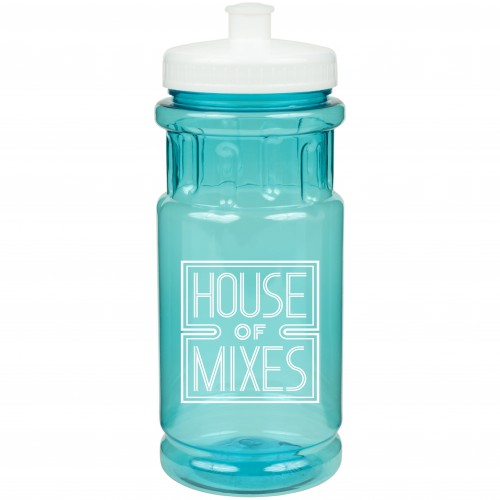 20 Oz. Shoreline Bottle with Push Pull Lid