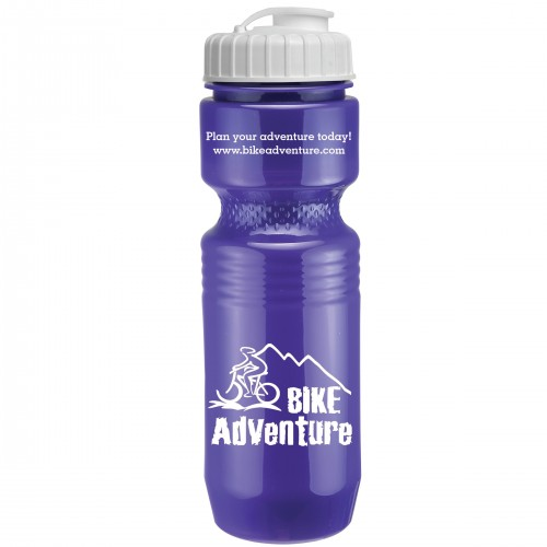 26 Oz. Jogger Bottle with Flip Top Lid