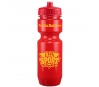 22 Oz. Bike Bottle with Push Pull Lid