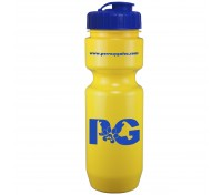 22 Oz. Bike Bottle with Flip Top Lid