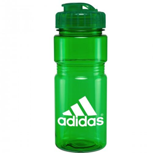 20 Oz. Translucent Recreation Bottle with Flip Top Lid