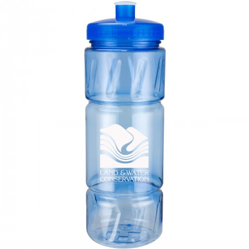 22 Oz. Pulse Bottle with Low Profile Push Pull Lid
