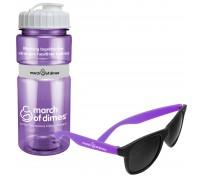 20 Oz. Sportster Bottle & Sunglasses Bundle