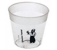 1 Oz. Shot Glass Clear Plastic Cup