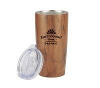 20 Oz. Wood Tone Stainless Steel Tumbler