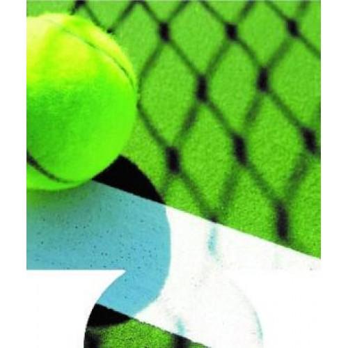 Tennis Full Color Hugger Koozie