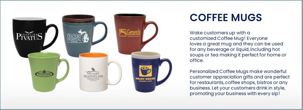 Personalized Coffee Mugs , Custom Promotional Coffee Mugs in Bulk