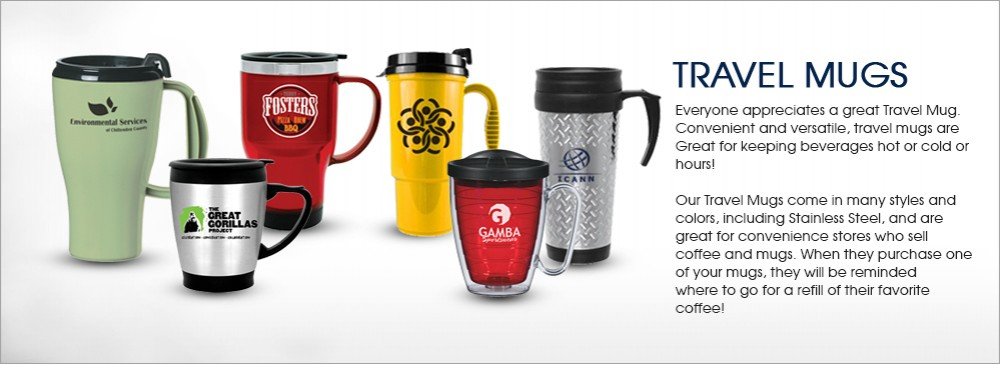 personalized travel mugs custom promotional travel mugs logo mugs