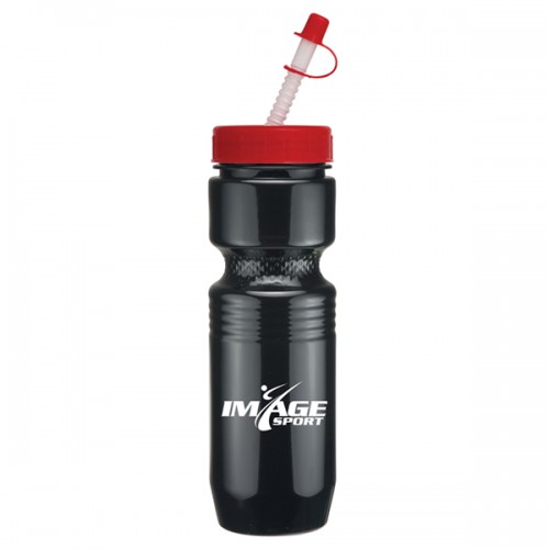 26 Oz. Jogger Bottle with Straw Tip Lid