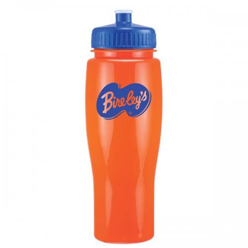24 Oz. Contour Bike Bottle with Push Pull Lid
