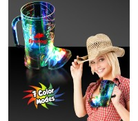 16 Oz. Cowboy Boot Light-Up Cup