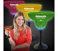 10 Oz. Light-Up Neon Plastic Margarita Glass