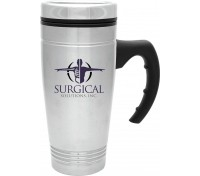 18 oz. Stainless Steel Fleet Mug Plastic Liner
