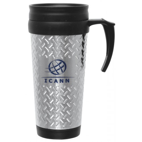 14 oz. Steel City Tool Box Travel Mug
